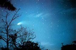 Un cometa